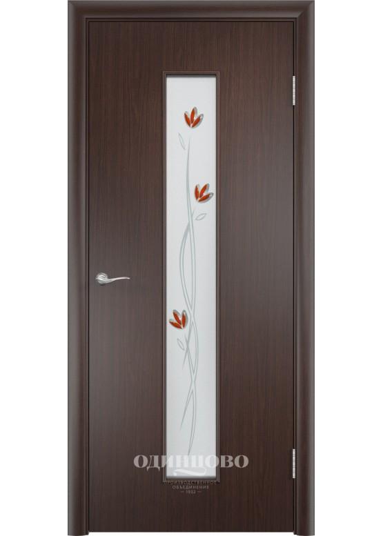 Дверное полотно С-17 Ф Венге