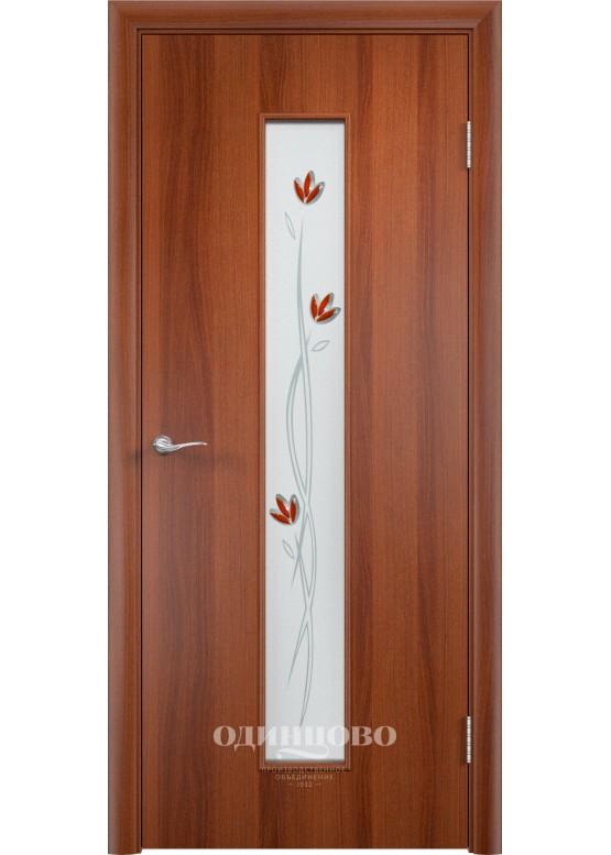 Дверное полотно С-17 Ф Итальянский орех