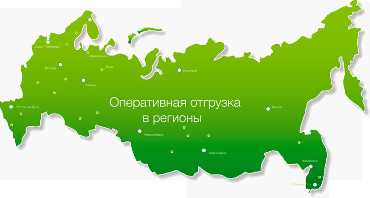Доставка дверей по регионам России
